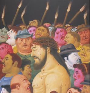 Botero. Via Crucis. La Passione di Cristo