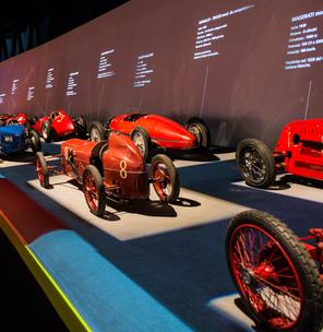 Visiting the the Automobile Museum of Turin together with CoopCulture