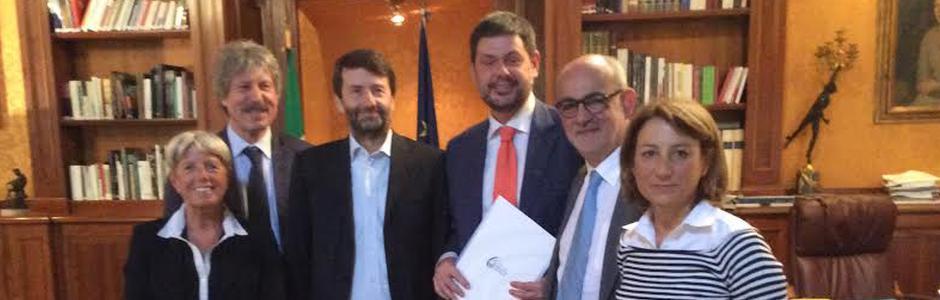 Focus on: Alleanza delle Cooperative incontra il Ministro Franceschini