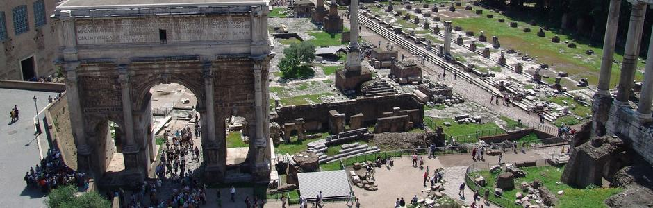 United Forums: from the Imperial Forum to the Roman Forum and Palatine Hill