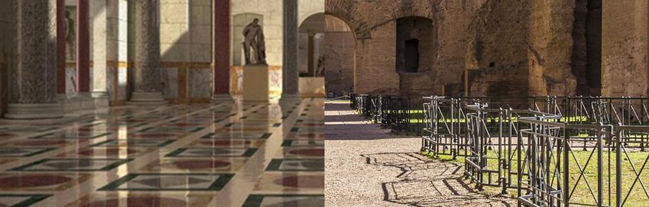 Le terme di Caracalla in 3D