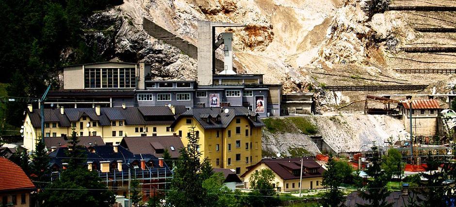 Miniera Cave del Predil - Speciale Giro d'Italia