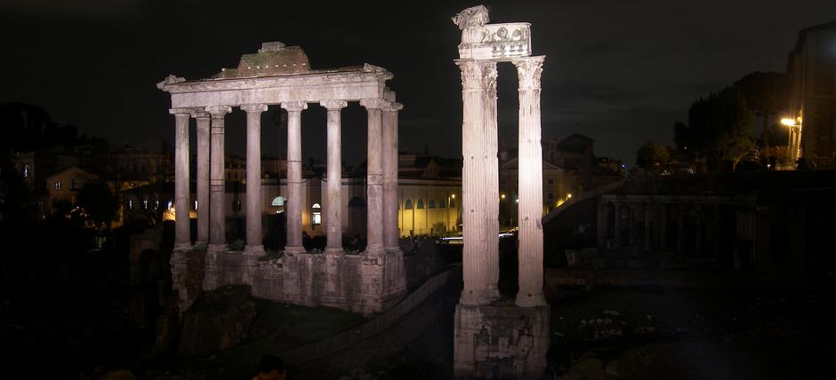 Foro Romano Night Opening