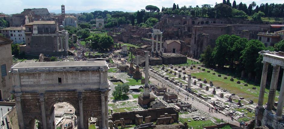 Roman Forum and Palatine Hill