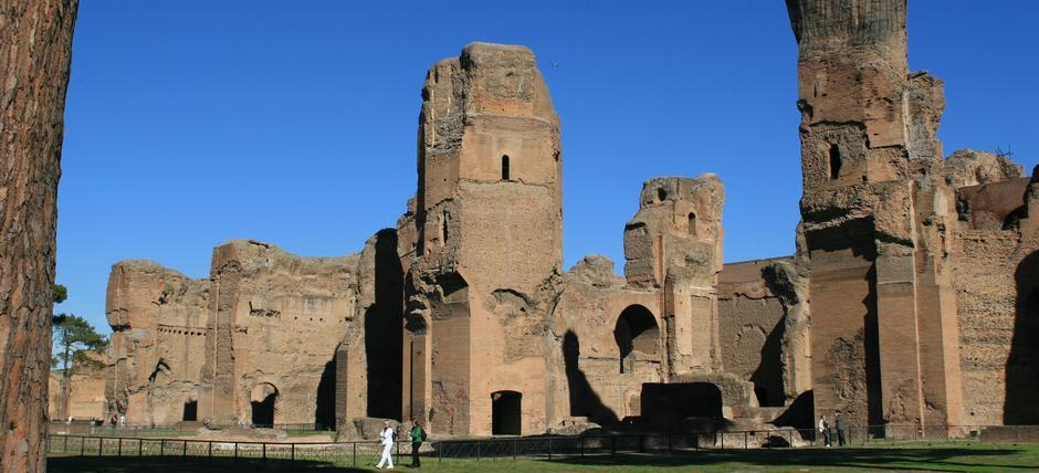 Terme di caracalla roma archaeological sites tickets office hours - Bagni di tivoli roma ...