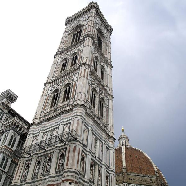 Bell tower of the Church of Santa Maria del Fiore