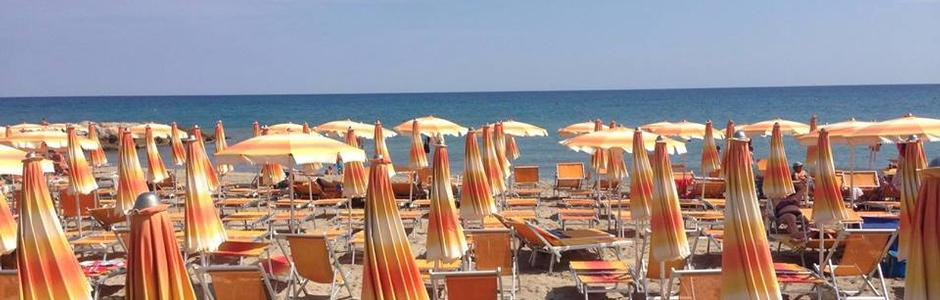 Acque Basse, spiaggia libera attrezzata