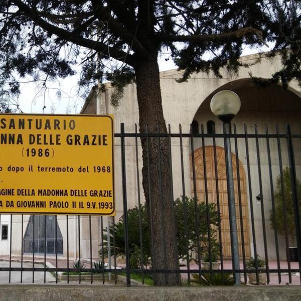 Santuario della Madonna delle Grazie - Chiese - Montevago