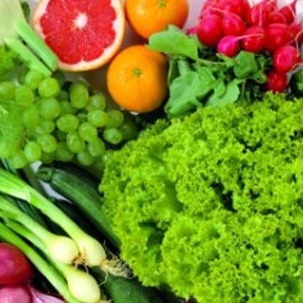 Verdure, frutta e legumi