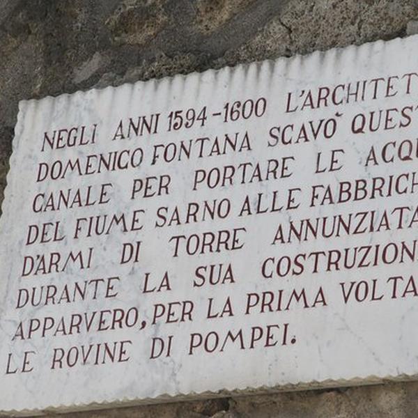 Storia degli scavi di Pompei