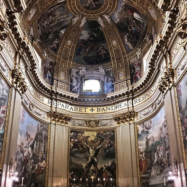 Passeggiata tra chiese Barocche nel centro di Roma