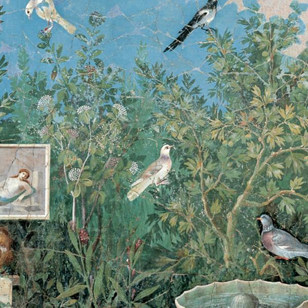 Pittura di giardino (dalla Casa del Bracciale d'oro)