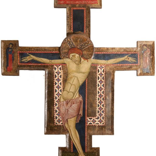 Croce sagomata di Rinaldo di Ranuccio