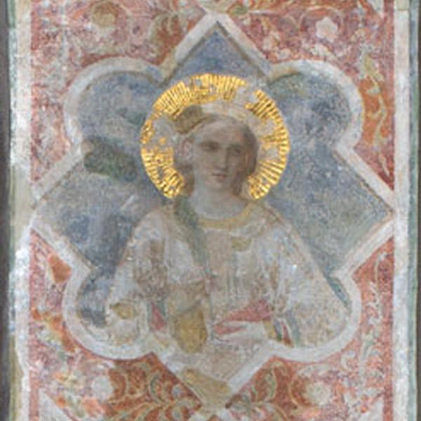 Chapel of the Blessings: Portraits of female saints