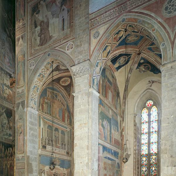 Fresco cycle of the Peruzzi Chapel