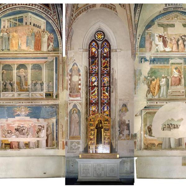 Fresco cycle of the Bardi Chapel