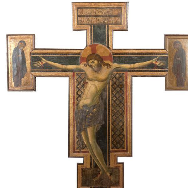Croce sagomata dalla chiesa di San Francesco