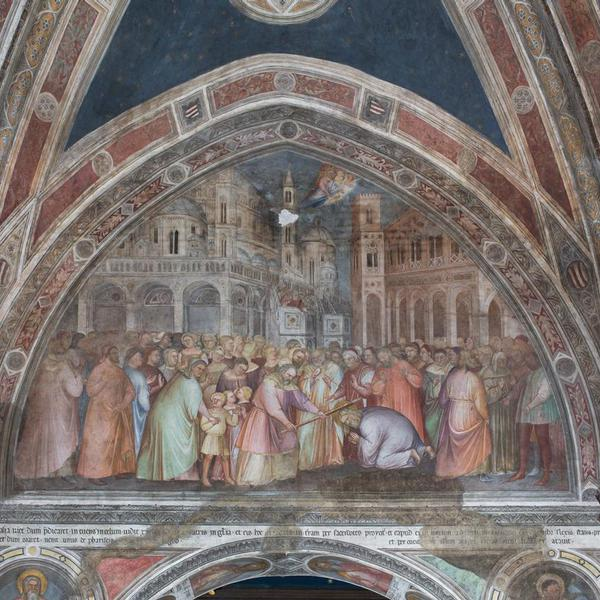 The Belludi Chapel: Scenes from the lives of St. Peter and St. James; Christ Pantocrator; The Virgin Enthroned; Franciscan Saints