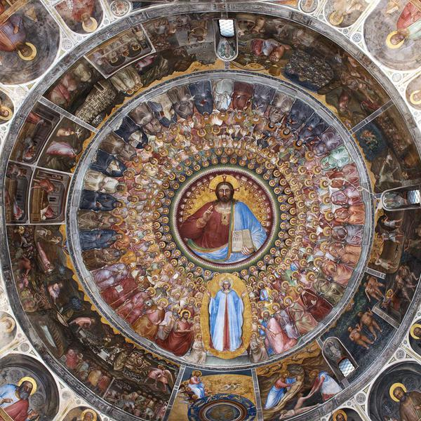 Fresco cycle in the Baptistery of the Cathedral