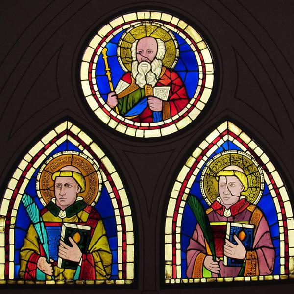 Vetrate dipinte da Santa Croce