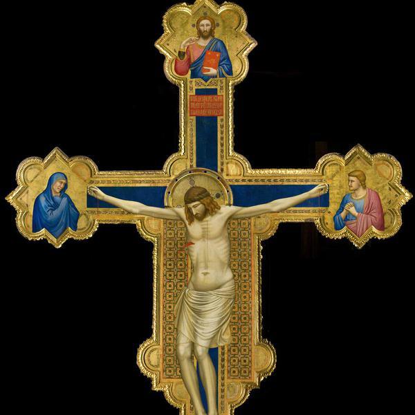 Crocifisso dipinto