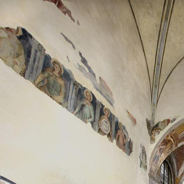 Fresco cycle in the Cappella Maggiore