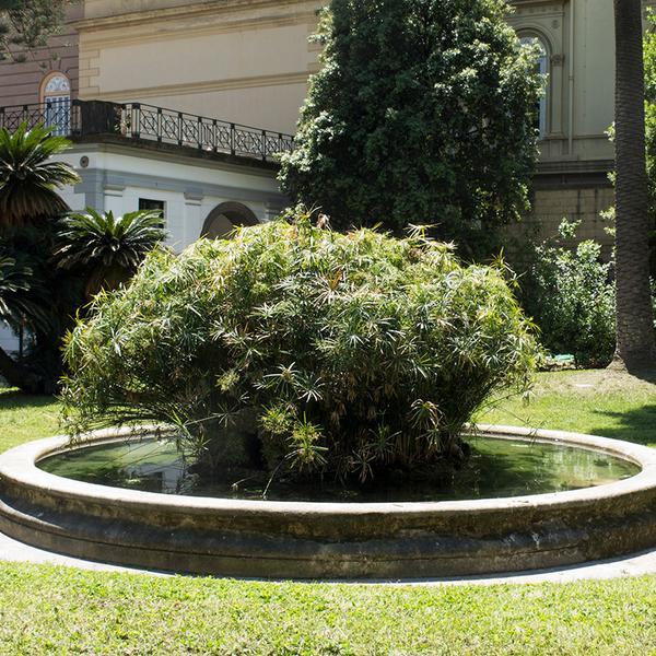 Fontana di Villa Pignatelli