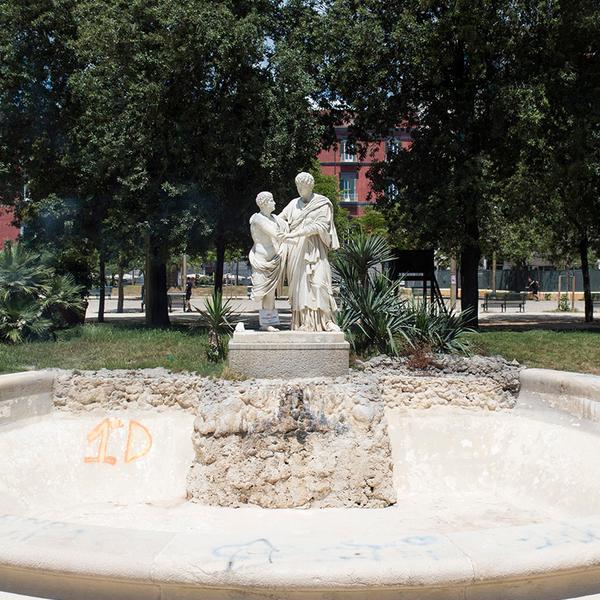 Fontana di Oreste ed Elettra