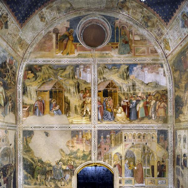 Fresco cycle in the Oratory of San Giorgio