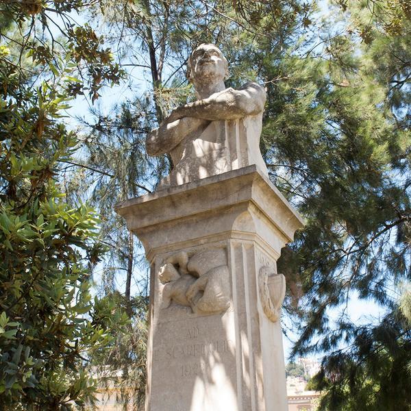 Busto di Edoardo Scarfoglio