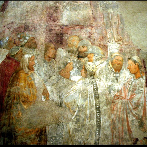 Fresco of the Crucifixion