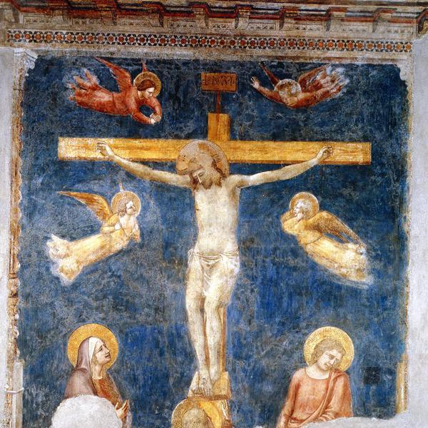 Affreschi nel Coro delle Monache (basilica) e nel convento
