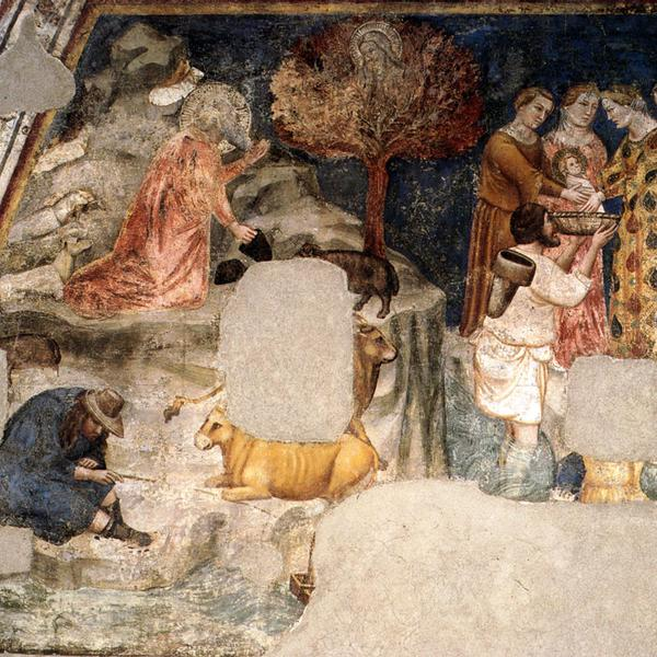 Fresco cycle by Roberto d'Oderisio