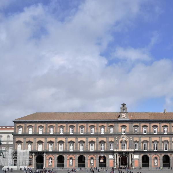 La facciata di Palazzo Reale
