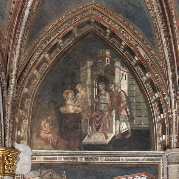 Fresco Cycle of the Brancaccio Chapel