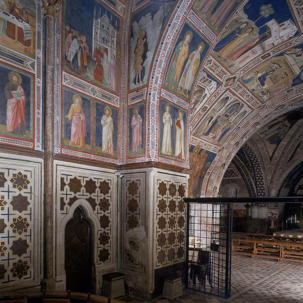 Fresco Cycle of the Chapel of San Nicola
