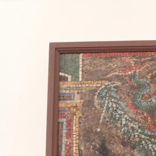 Mosaico con Tritone (dalla Casa dello Scheletro)