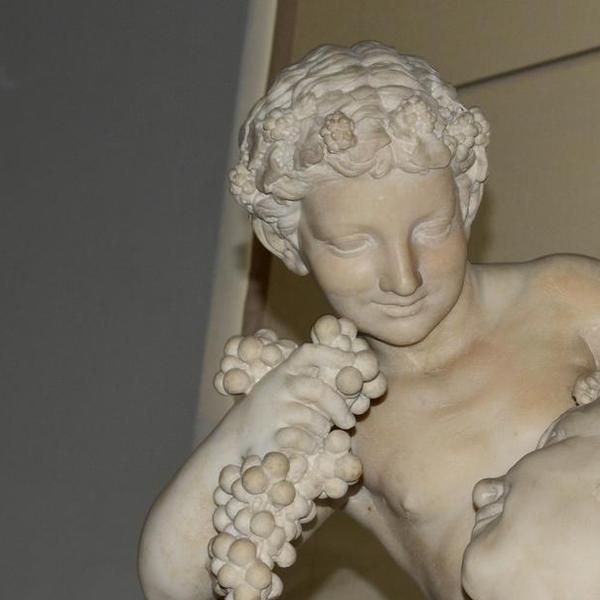 Satiro con Dioniso bambino