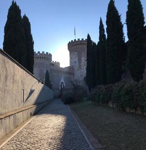 Visiting Rocca Pia