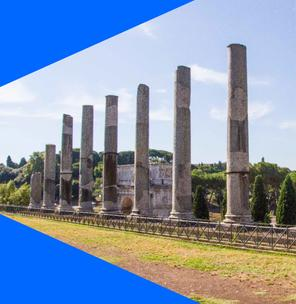 The Roman Forum: centre of the political, economic and religious life of the ancient city