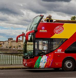 Reach places of Giotto in Florence with CitySightSeeing Florence