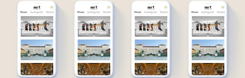MRT, App ufficiale dei Musei Reali di Torino
