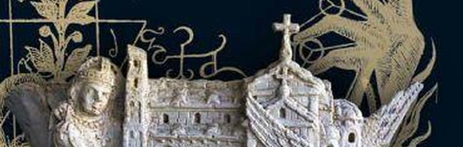 """""""Oriente e Occidente""""   Allegorie e simboli nella tradizione mediterranea. Installazioni di Navid Azimi Sajadi / Al Chiostro dei Benedettini"""