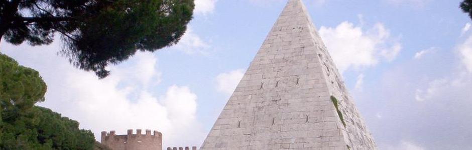 Apertura straordinaria della Piramide di Caio Cestio