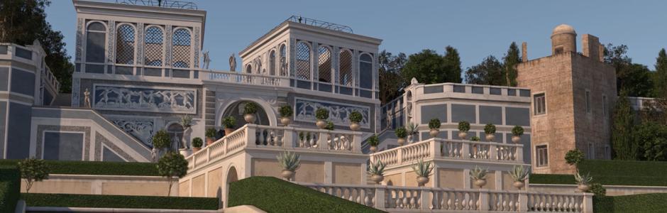 Palatine Hill and its secret garden