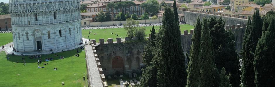 Walls of Pisa