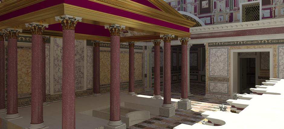 Domus Transitoria. La prima reggia di Nerone sul Palatino