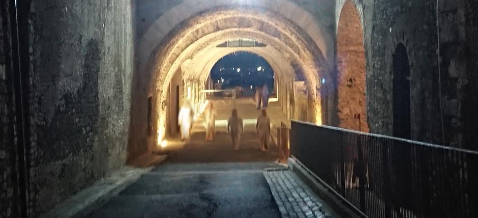 Fantasmi al Santuario di Ercole Vincitore