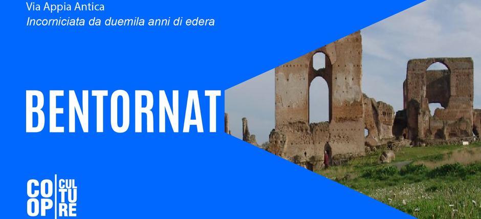 """Genius Loci a Roma - Appia antica: """"Incorniciata da duemila anni di edera"""". Sulle orme del Grand Tour"""