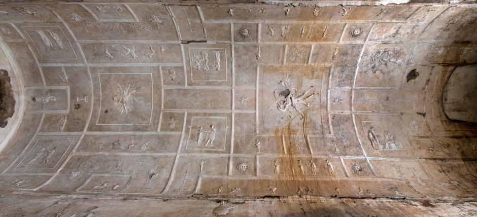 Basilica sotterranea di porta maggiore apertura al - Apertura porta di roma ...